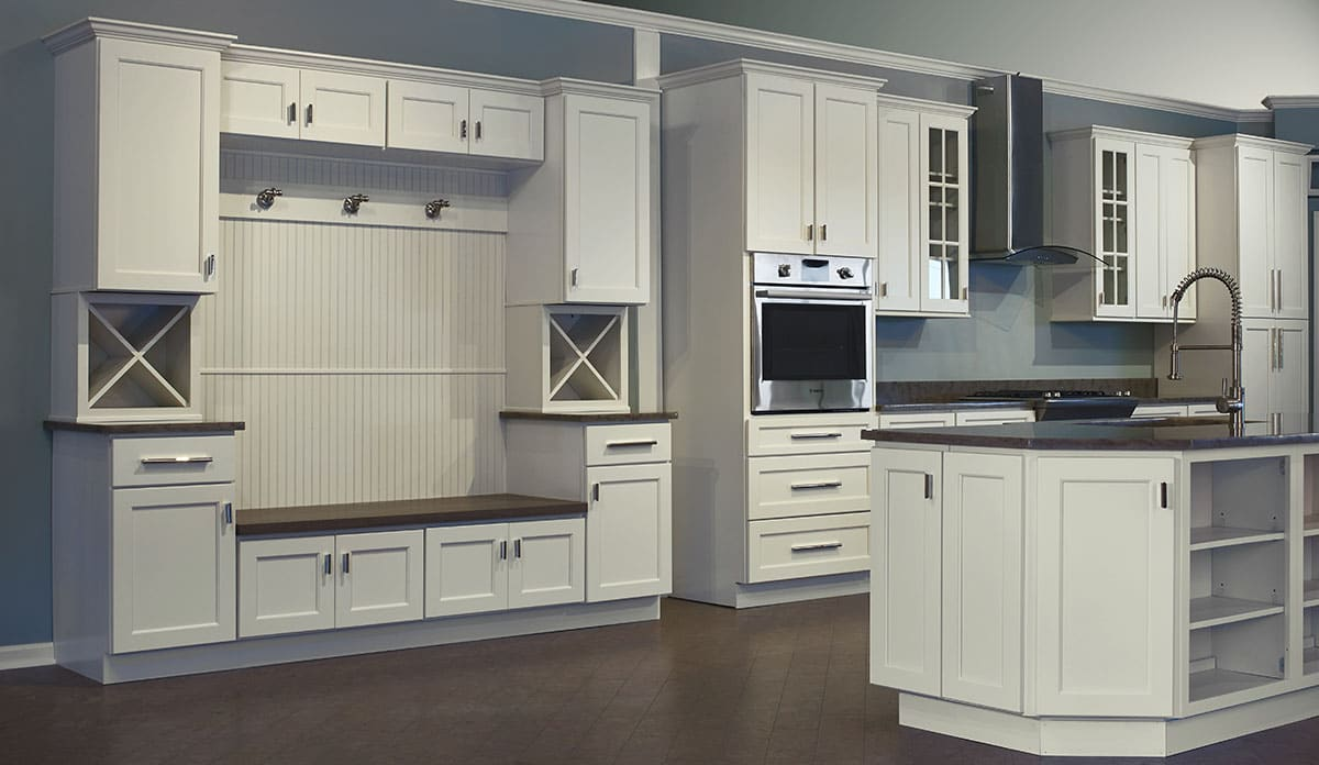 Slab Style Ck Cabinets